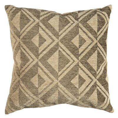 Diamond Chenille Throw Pillow