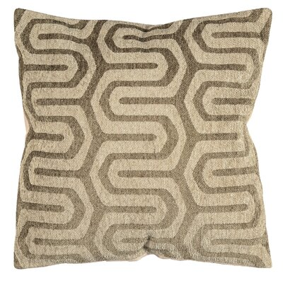 Maze Chenille Throw Pillow