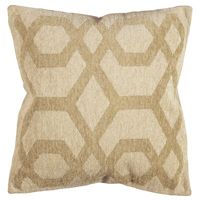 Chain Chenille Throw Pillow