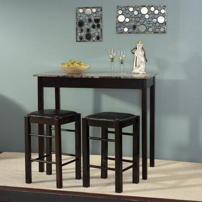 Financing Tavern 3 Piece Counter Height Dinin...