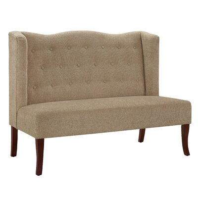 Tyra Linen Settee Convertible Chair