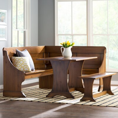 Rockport 3 Piece Nook Dining Set