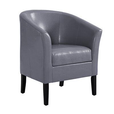 Badminton Barrel Chair Upholstery: Gray