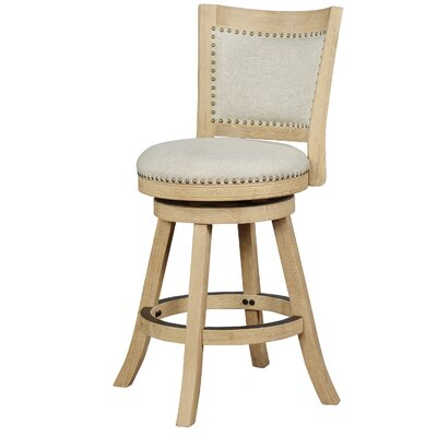 Rebecka 24 Round Swivel Bar Stool
