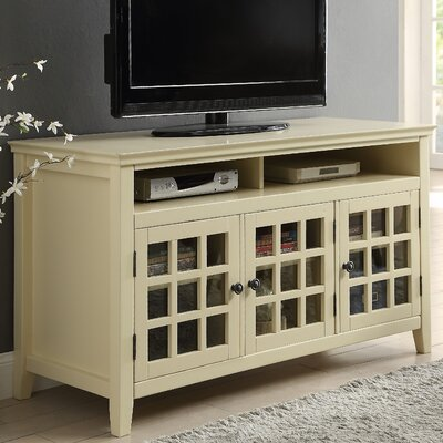 Tuftonboro 48 TV Stand Color: Pale Yellow