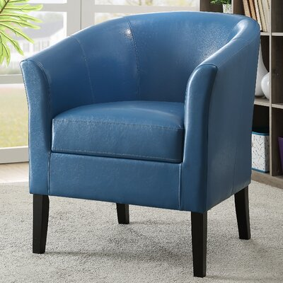 Badminton Barrel Chair Upholstery: Blue