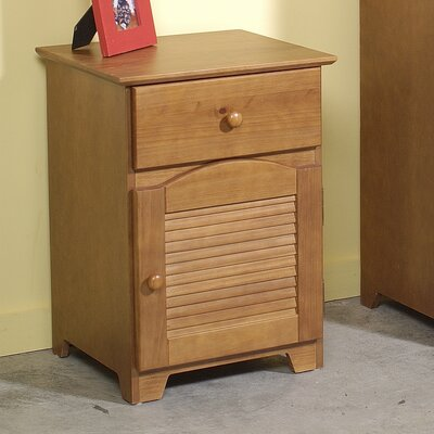 Credit for Shutter 1 Drawer Nightstand...