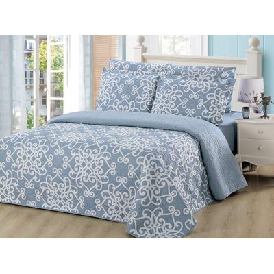 Luna 6 Piece Quilt and Sheet Set Size: King