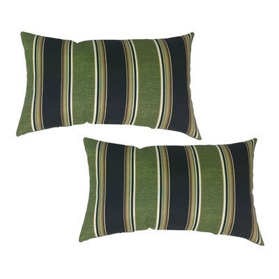 Bartholomew Striped Lumbar Pillow
