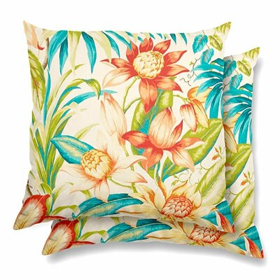 Donegal Eco-Friendly Indoor/Outdoor Throw Pillow