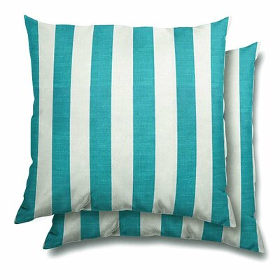 Baynes Eco-Friendly Indoor/Outdoor Throw Pillow