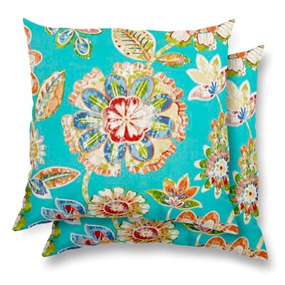 Ilyse Eco-Friendly Indoor/Outdoor Throw Pillow