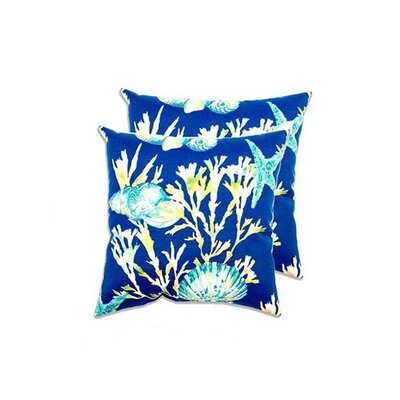 Bayou Eco-Friendly Indoor/Outdoor Throw Pillow