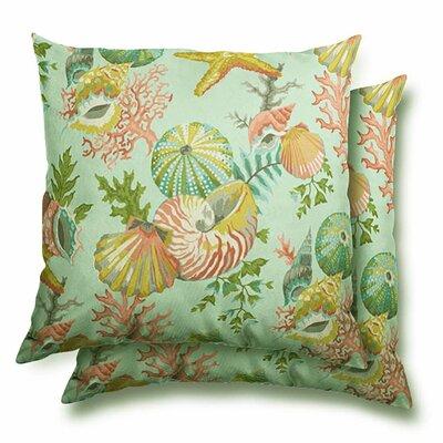 Gillett Eco-Friendly Indoor/Outdoor Throw Pillow
