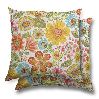 Shepardson Eco Friendly Indoor/Outdoor Throw Pillow