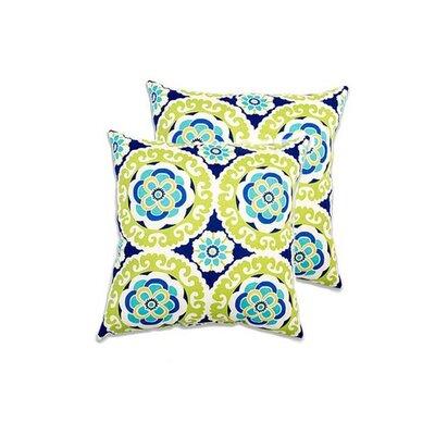 Bradlee Eco-Friendly Indoor/Outdoor Throw Pillow