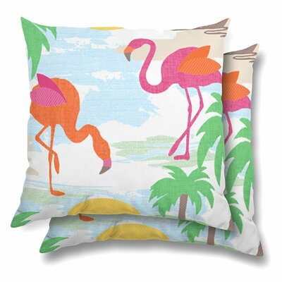 Miramar Eco-Friendly Indoor/Outdoor Throw Pillow