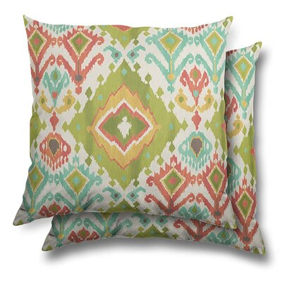 Becraft Eco-Friendly Indoor/Outdoor Throw Pillow