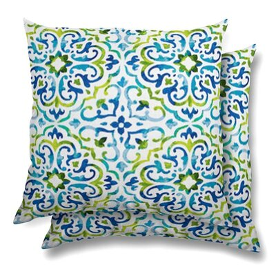 Keriann Eco-Friendly Indoor/Outdoor Throw Pillow