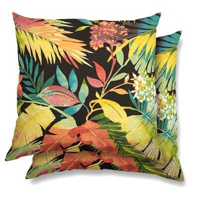 Adams Eco-Friendly Indoor/Outdoor Throw Pillow