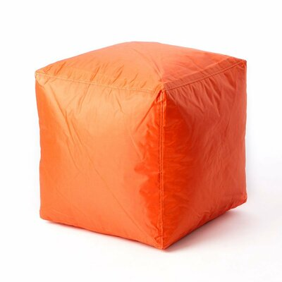 Nolhan Pouf Upholstery : Orange