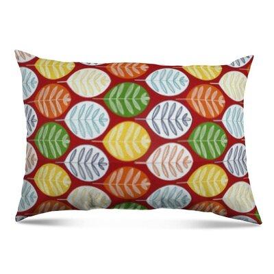 Amadi Leaf Outdoor Lumbar Pillow