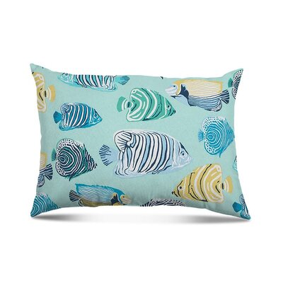Westerly Fish Tales Outdoor Lumbar Pillow