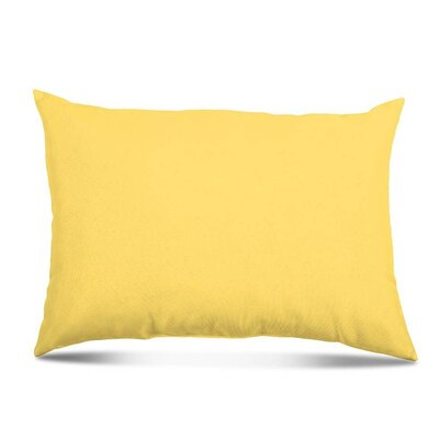 Bayview Eco-Friendly Outdoor Lumbar Pillow Color: Daffodil