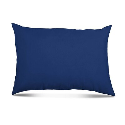 Bayview Eco-Friendly Outdoor Lumbar Pillow Color: Navy