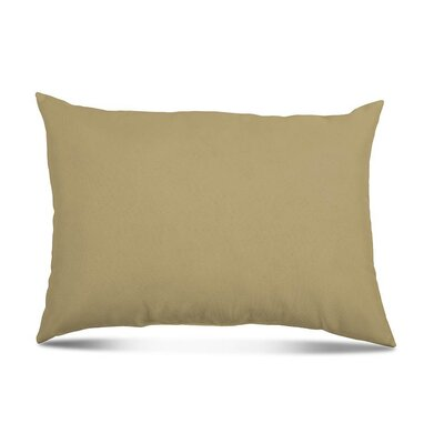 Bayview Eco-Friendly Outdoor Lumbar Pillow Color: Sandstone