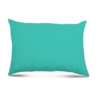 Bayview Eco-Friendly Outdoor Lumbar Pillow Color: Atlantis