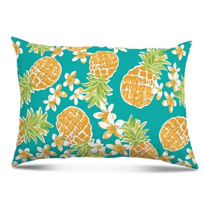 Nedlands Pineapple Outdoor Lumbar Pillow