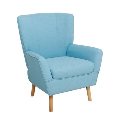 Gambill Armchair Upholstery: Turquoise Blue