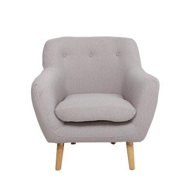 Gamble Armchair Upholstery: Cream