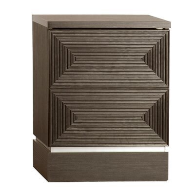 Aaliyah 2 Drawer Nightstand