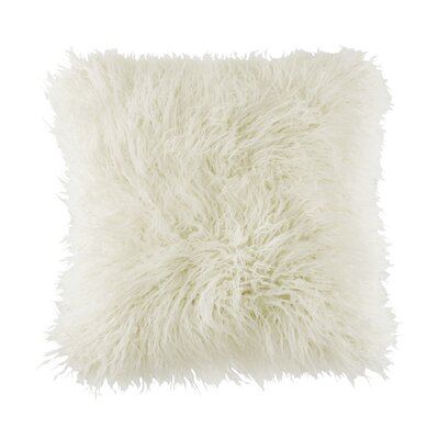 Melinda Faux Mongolian Throw Pillow