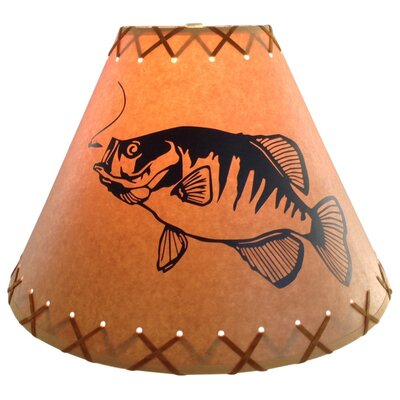 Crappie 12 Paper Empire Lamp Shade