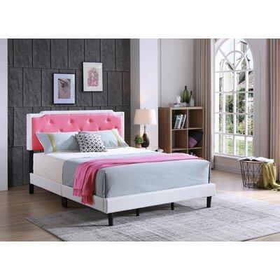 Edna Upholstered Panel Bed Size: Full