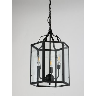 Carlyle 3-Light Foyer Pendant