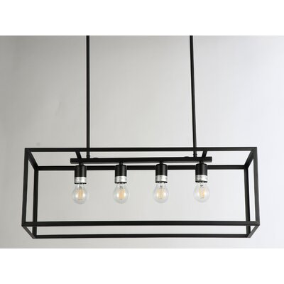 Ratner 4-Light Kitchen Island Pendant