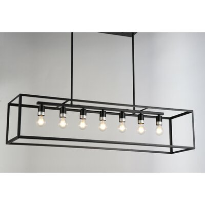 Ratner 7-Light Kitchen Island Pendant