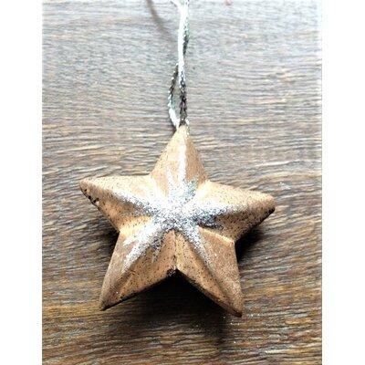 Wooden Star Hanging Figurine Set 16029x