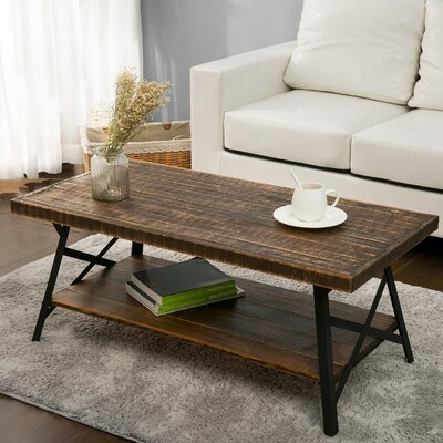 Arundel Coffee Table with Magazine Rack