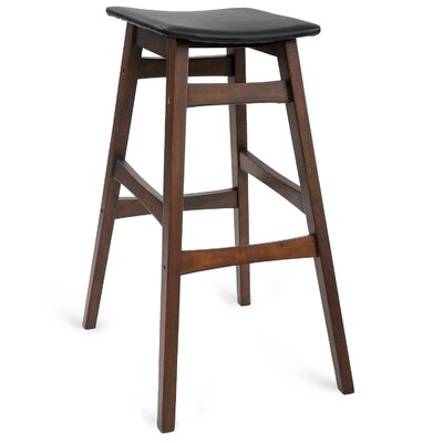 Crandall 30 Wood Bar Stool (Set of 2)
