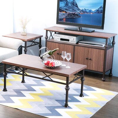 Encinas 2 Piece Coffee Table Set