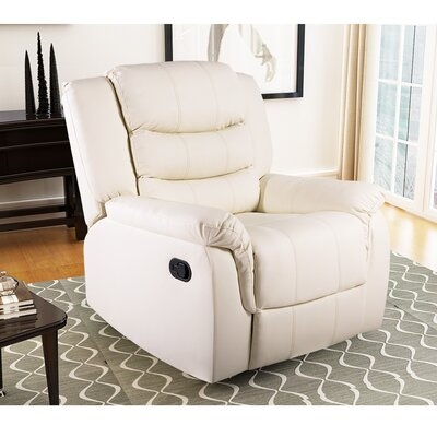 William Street Manual Recliner Upholstery: Beige