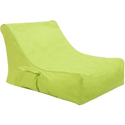 Bean Bag Lounger Upholstery: Green