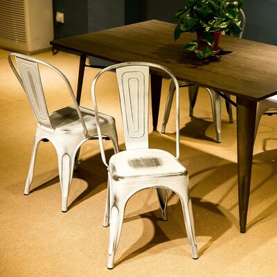 Cosgrove Dining Chair Color: Antique/White
