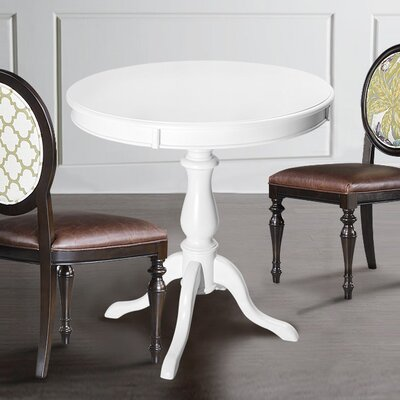 Silikou Dining Table Color: White