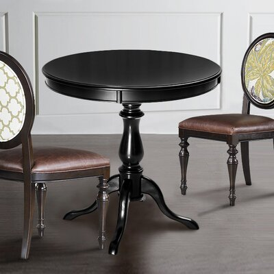 Silikou Dining Table Color: Black